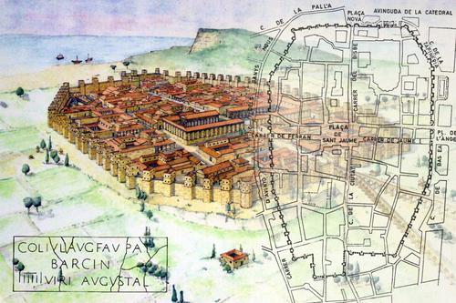 La Barcelona romana: Colonia Iulia Augusta Faventia Paterna Barcino