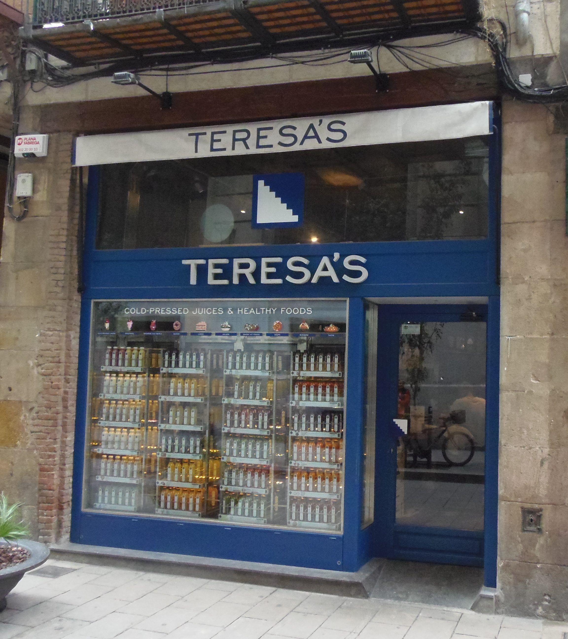 Teresas Juicery: ¡Los mejores zumos de Barcelona!