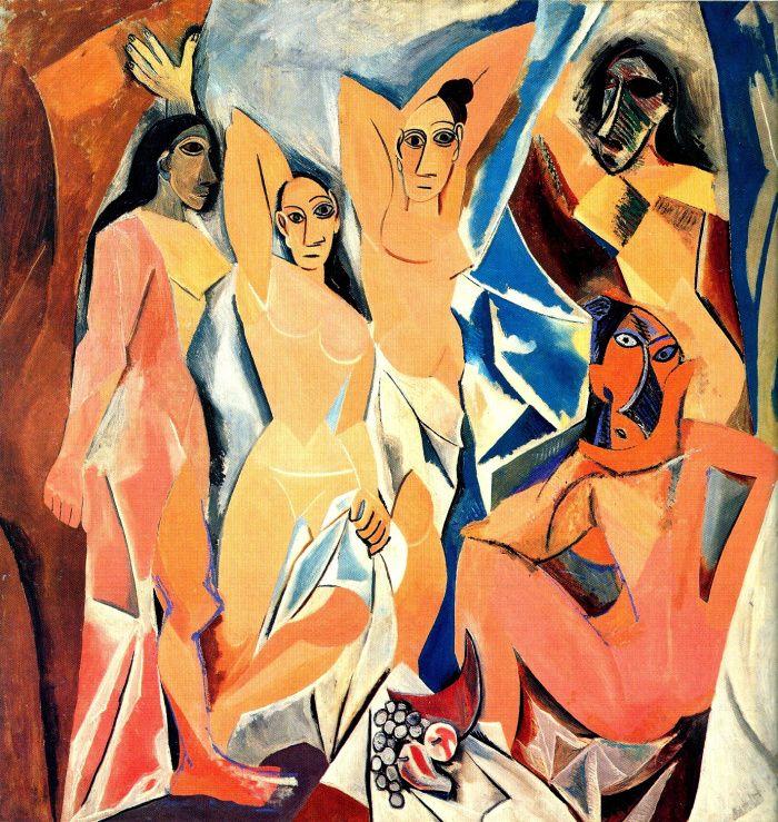 Las señoritas de Aviñon de Picasso, no eran tan señoritas como decían…