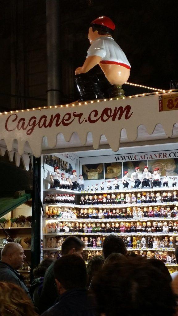 Caganers Fira Santa Llúcia Barcelona 2016