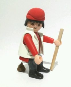 Caganer Play mobil.
