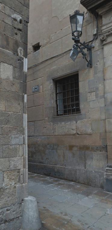 La Cana de Barcelona, la medida de la Catedral de Barcelona: