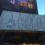 El Friso o mural de los Gigantes de Picasso del colegio de Arquitectos de Cataluña
