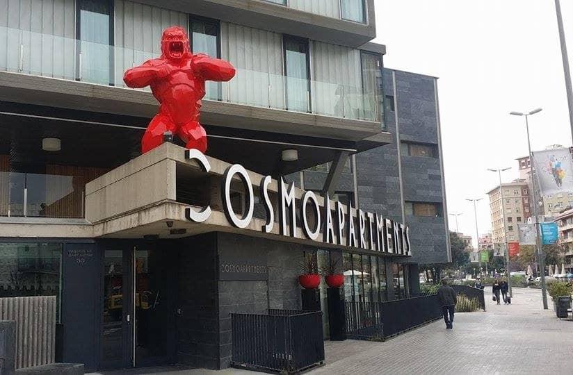 El gorila de Sants, el King Kong de Barcelona