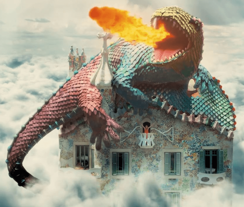 La Casa Batlló esconde la leyenda de Sant Jordi