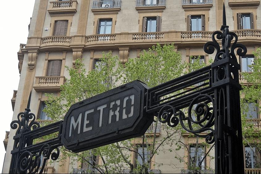 La última estación original de metro de Barcelona