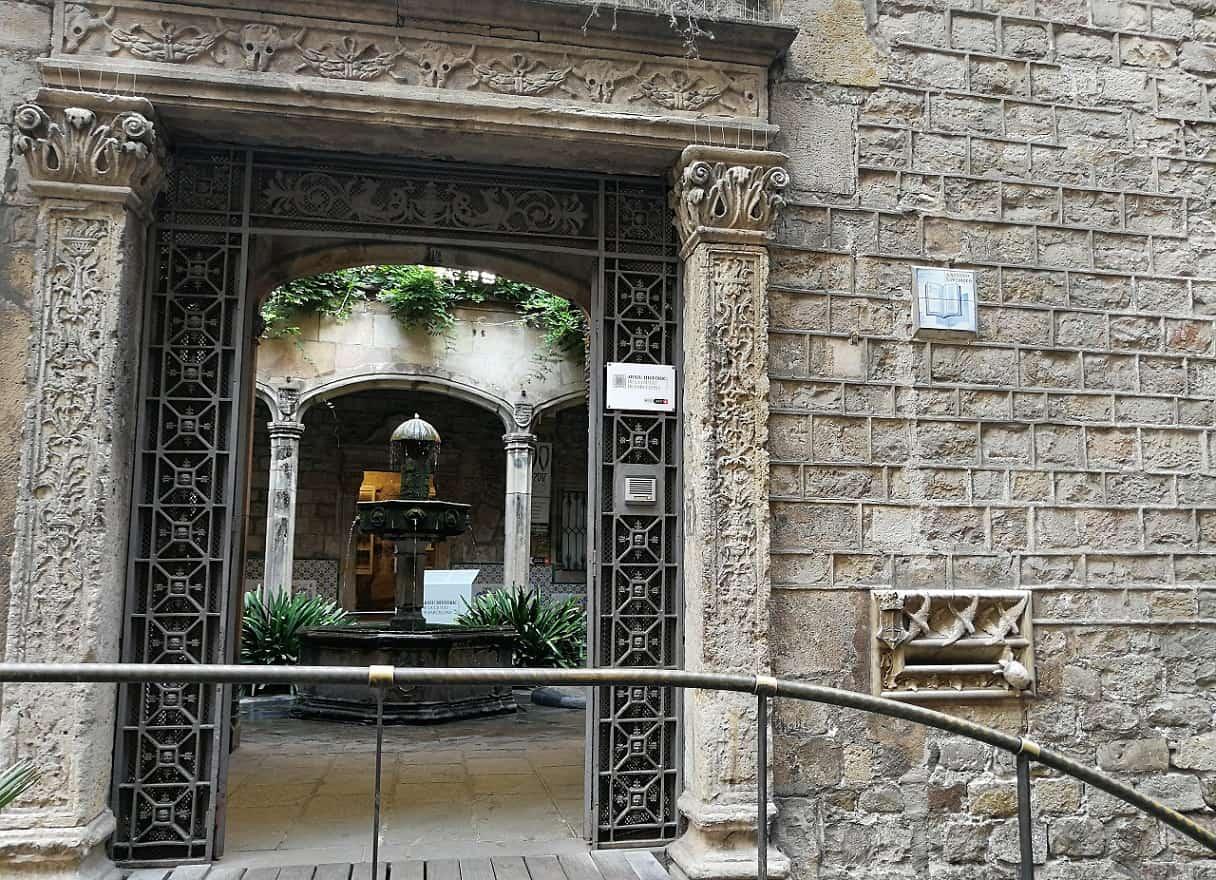 La casa Ardiaca y su buzón modernista