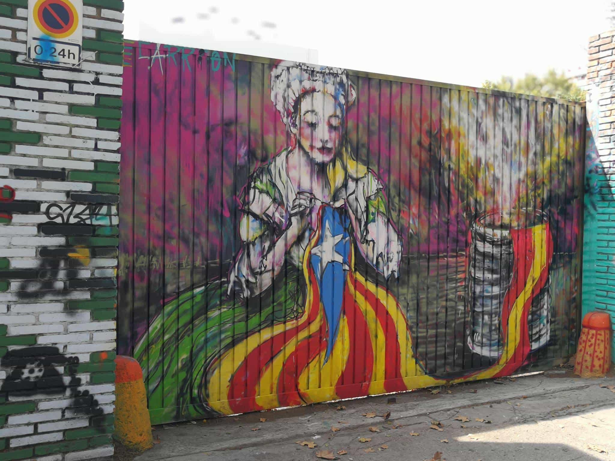 El Grafiti más polémico de toda la ciudad