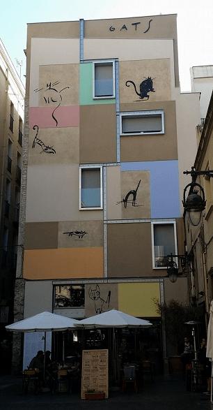 Los gatos de la calle Xuclà